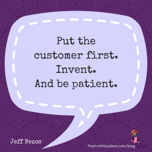 What Would Jeffrey Say? Top Jeff Bezos Quotes! - Jeff Bezos quote in purple