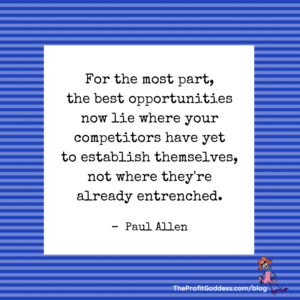 Paul Allen Quotes That Will Inspire You! - Paul Allen quote on blue image