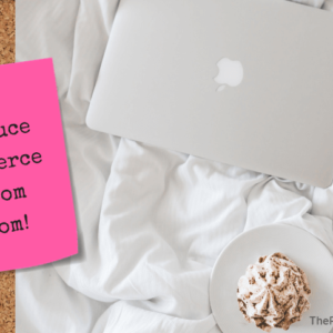 Secret Sauce To Be A Fierce Work From Home Mom! - blog title image