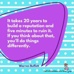 How To Create Effective Branding On A Budget! - Warren Buffett quote